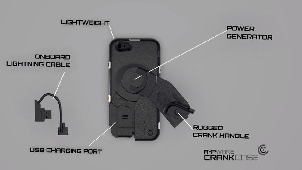 CrankCase: carga tu 'smartphone' dándole a la manivela