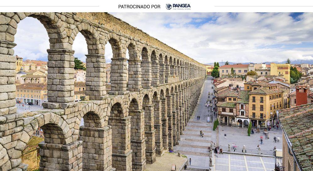 Foto: El famoso acueducto de Segovia (iStock)