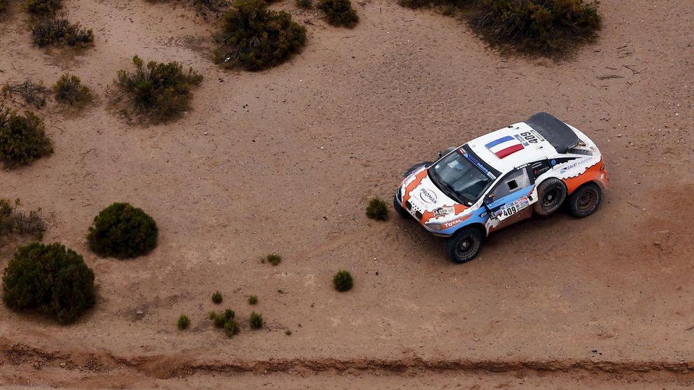 Un muerto y cinco heridos en el Dakar  al accidentarse un camión de asistencia