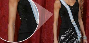Post de Doña Letizia: ¿fan de las toallitas autobronceadoras o efecto óptico?