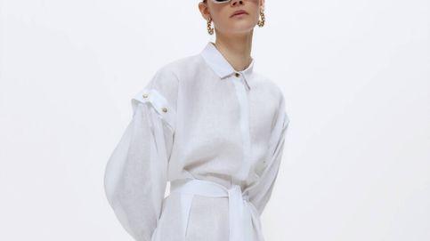 Uterqüe sorprende con su último invento: un vestido midi con las mangas desmontables