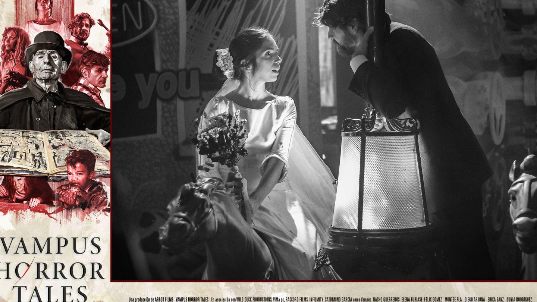 Elena Furiase y Félix Gómez, en 'Vampus Horror Tales'. (Cortesía)