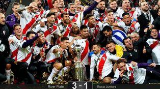 Garrafón en el Bernabéu o por qué lo mejor del River - Boca fue el himno argentino