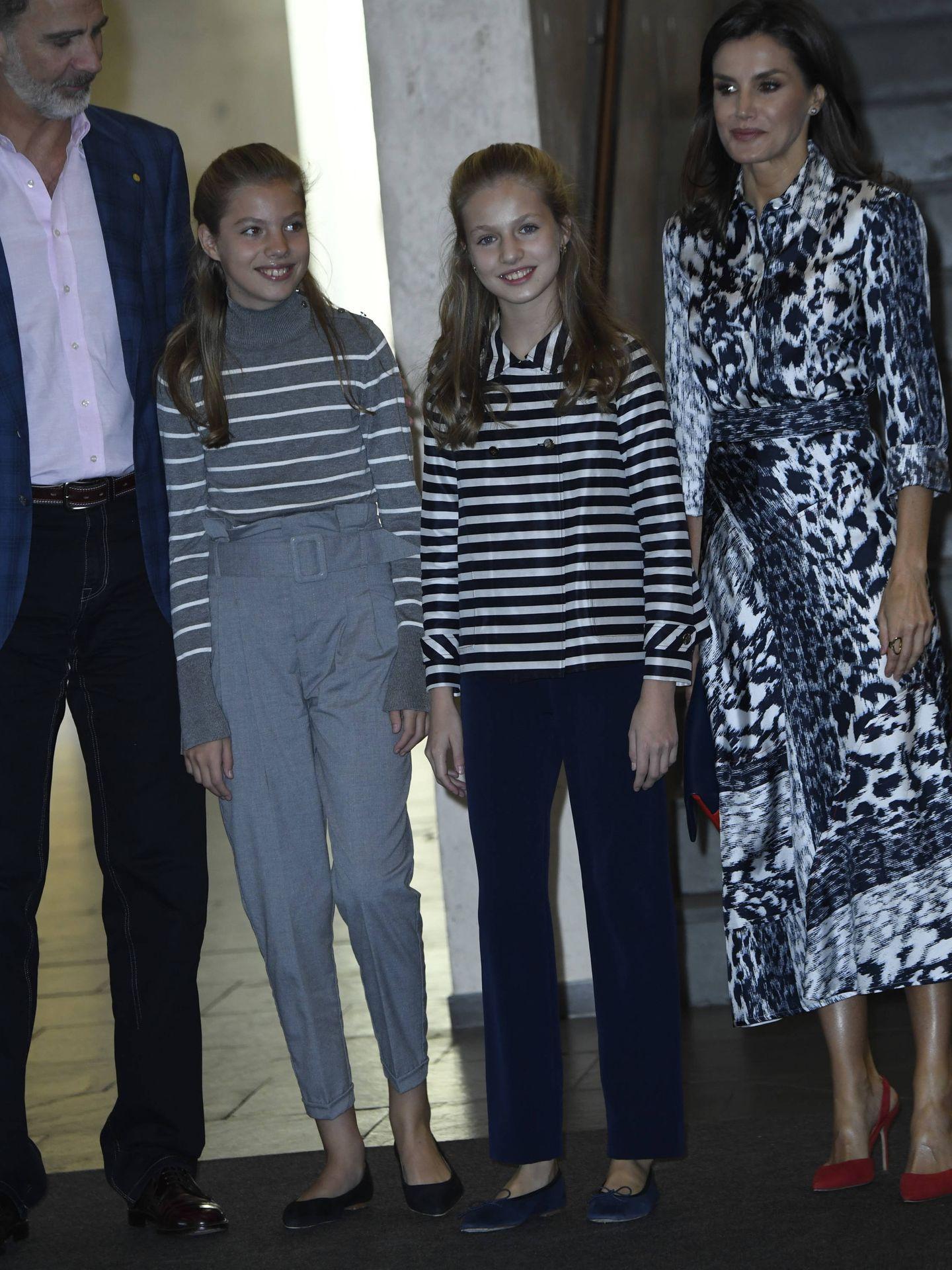La familia real, este martes en el Palacio de Congresos de Barcelona. (Limited Pictures)