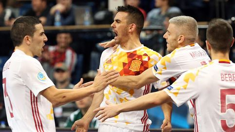La magia de Ricardinho no basta para detener a España