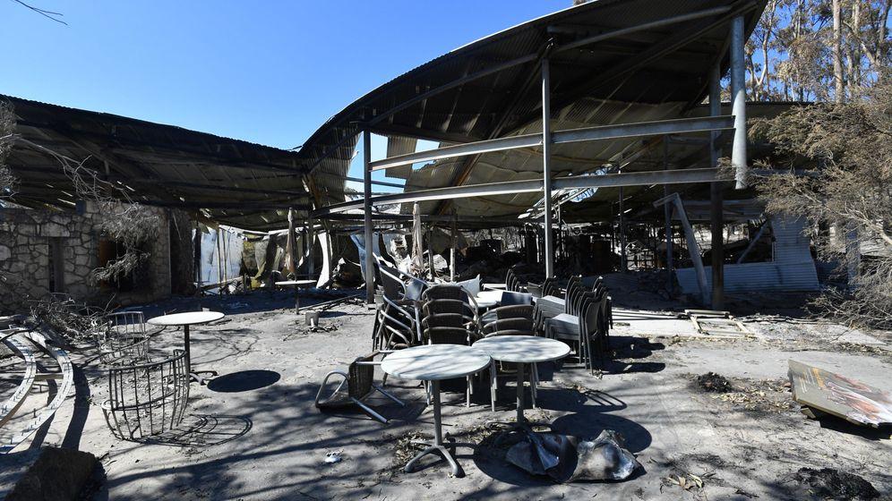 Foto: Los incendios en Australia han arrasado millones de hectáreas, provocando graves daños personales y materiales (EFE EPA/David Mariuz)