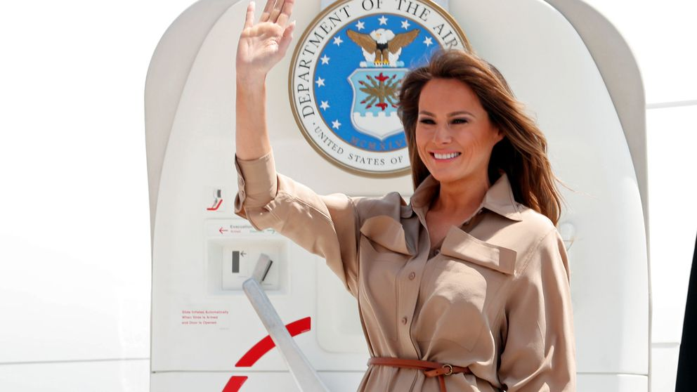 La 'operación humildad' de Melania Trump en África a través de sus looks