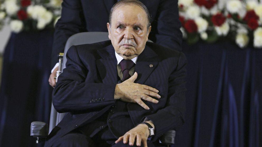 Buteflika anuncia su candidatura para un quinto mandato pese a su enfermedad