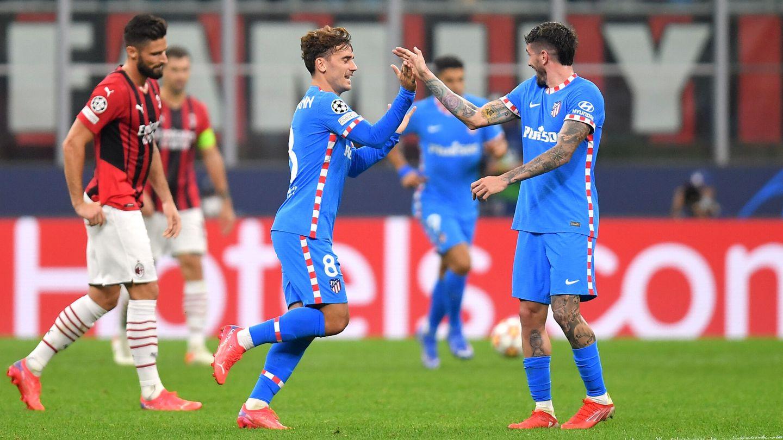 Griezmann celebra el tanto del empate. (Reuters)