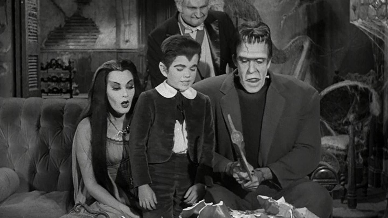 Imagen de la producción de los años 60 'La familia Monster'.