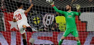Post de De Gea vuelve a salvar a Mourinho