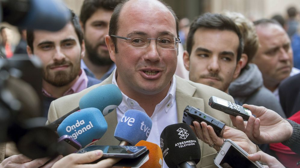 Foto: El presidente de Murcia y secretario general del PP murciano, Pedro Antonio Sánchez (Efe).