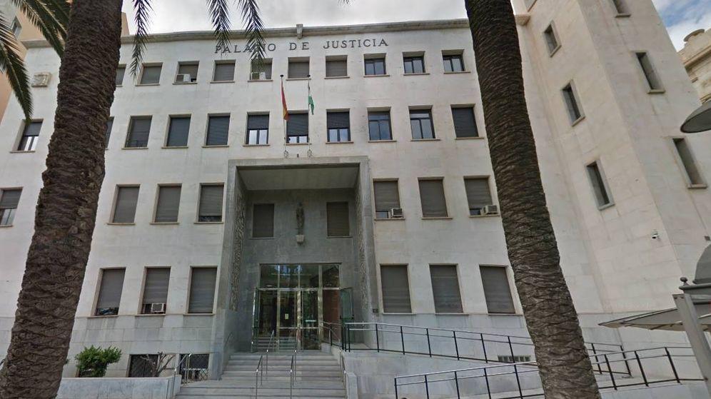 Foto: Fachada de la Audiencia Provincial de Almería (Google Maps)
