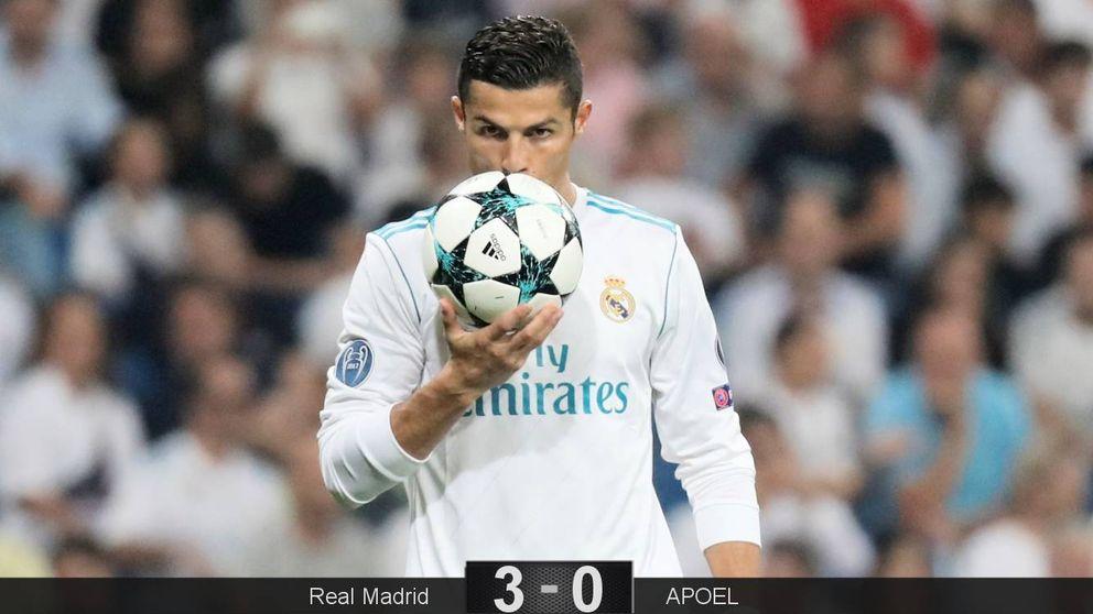 Cristiano siempre aparece, pero el Bernabéu aún espera que Bale haga algo