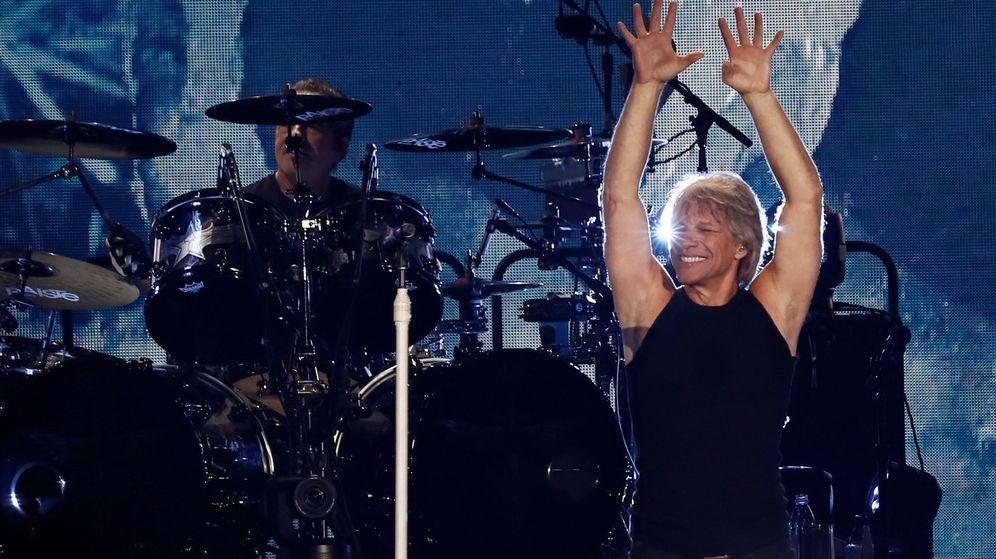 Foto: Concierto de Bon Jovi el pasado 7 de julio en el Wanda Metropolitano de Madrid. (EFE)