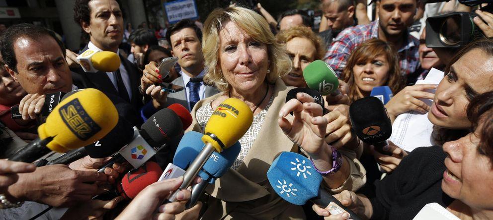 Foto: La expresidenta de la Comunidad de Madrid, Esperanza Aguirre. (EFE)