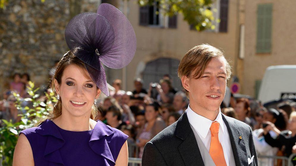 Foto: Tessy y el príncipe Louis en una imagen de archivo.