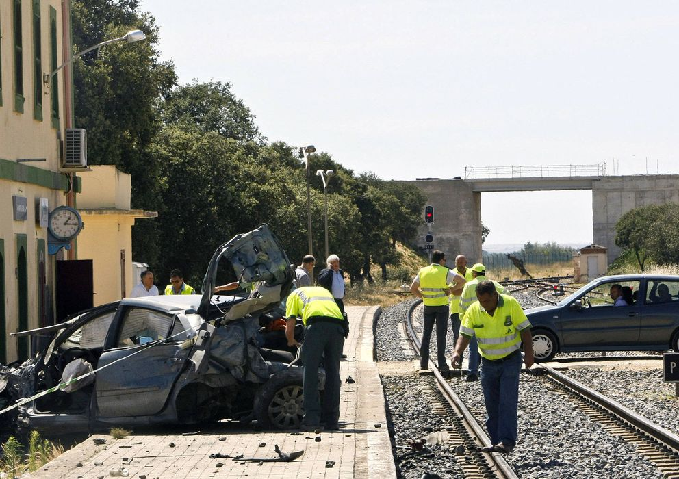 Foto: Un accidente con muertos y heridos (Efe)