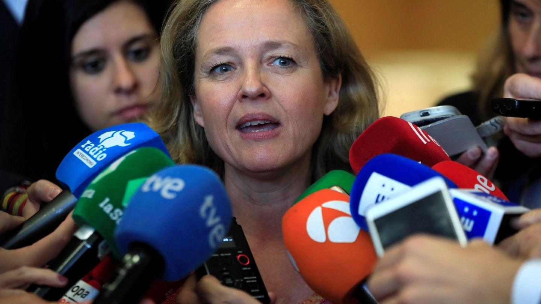 Nadia Calviño, ministra de Economía española. (EFE)