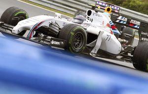 Spa, donde Williams puede subirse a las barbas de Mercedes