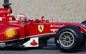 En Ferrari todavía falta mucho hasta que puedan ir al 100%