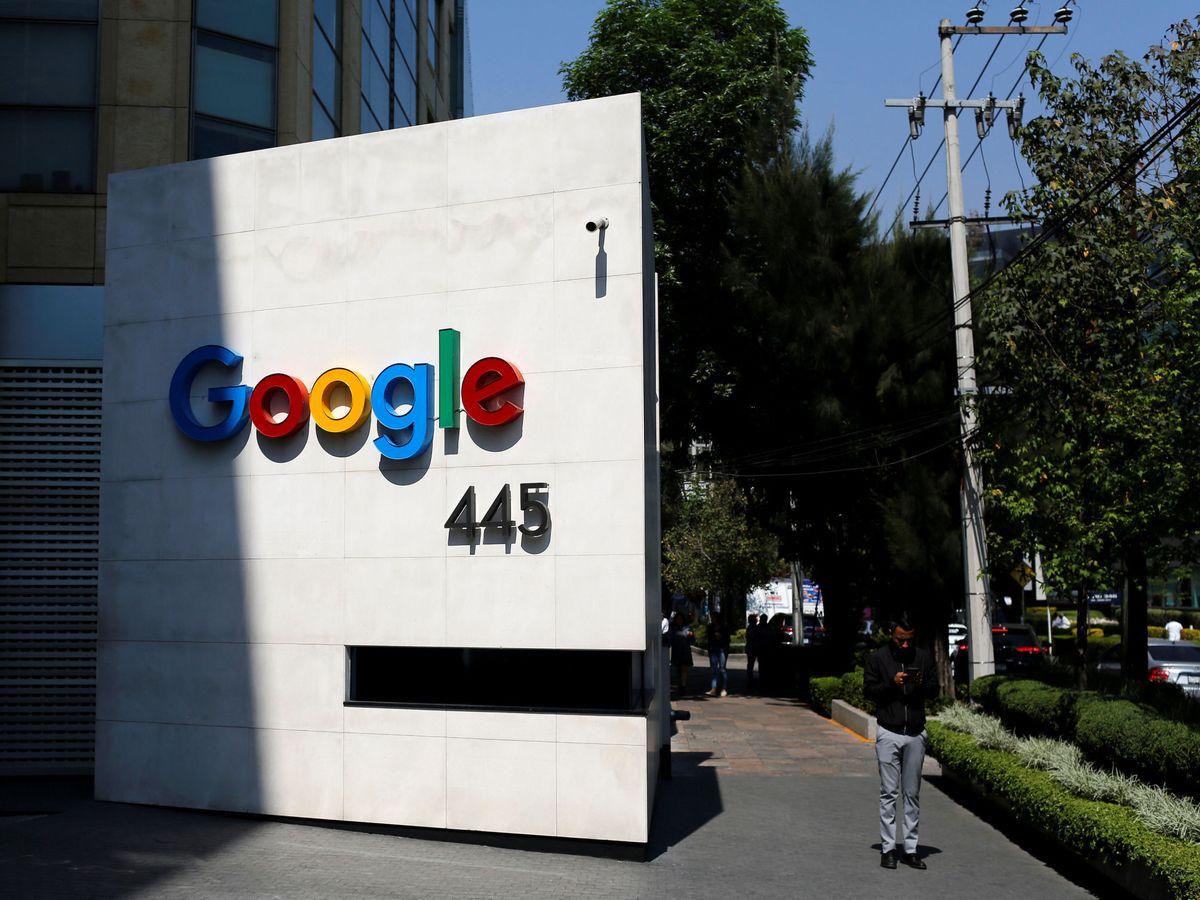 Foto: Vista de la sede de Google en Ciudad de México. (Reuters)
