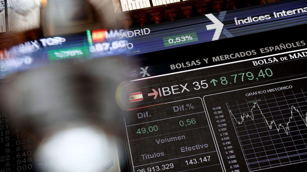 Foto: Bolsa de Madrid (Efe)