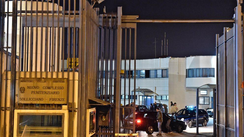 Fuga masiva en una treintena de cárceles en Italia tras medidas restrictivas por el virus