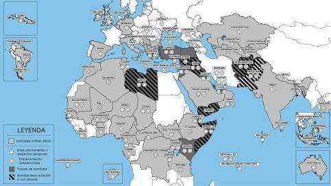 Este es el mapa de la 'guerra contra el terror', el conflicto sin fin que hereda Trump