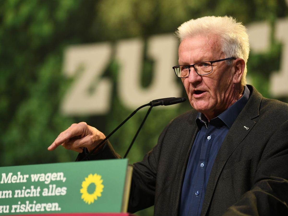 Foto: Winfried Kretschmann, el presidente de Baden-Wuertemberg.