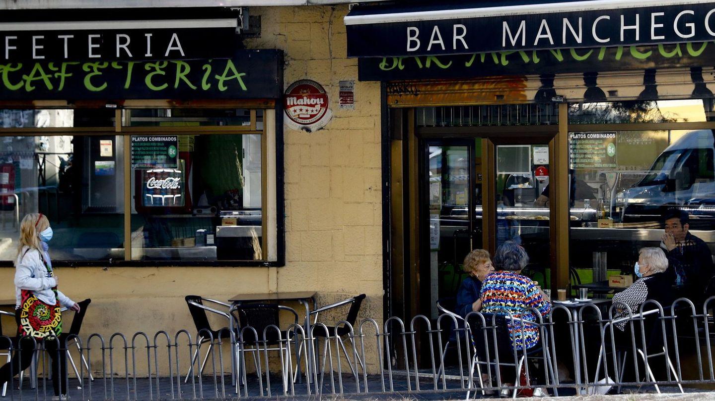 La terraza de un bar. (EFE)