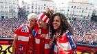 El Atlético de Madrid organiza una celebración igualitaria