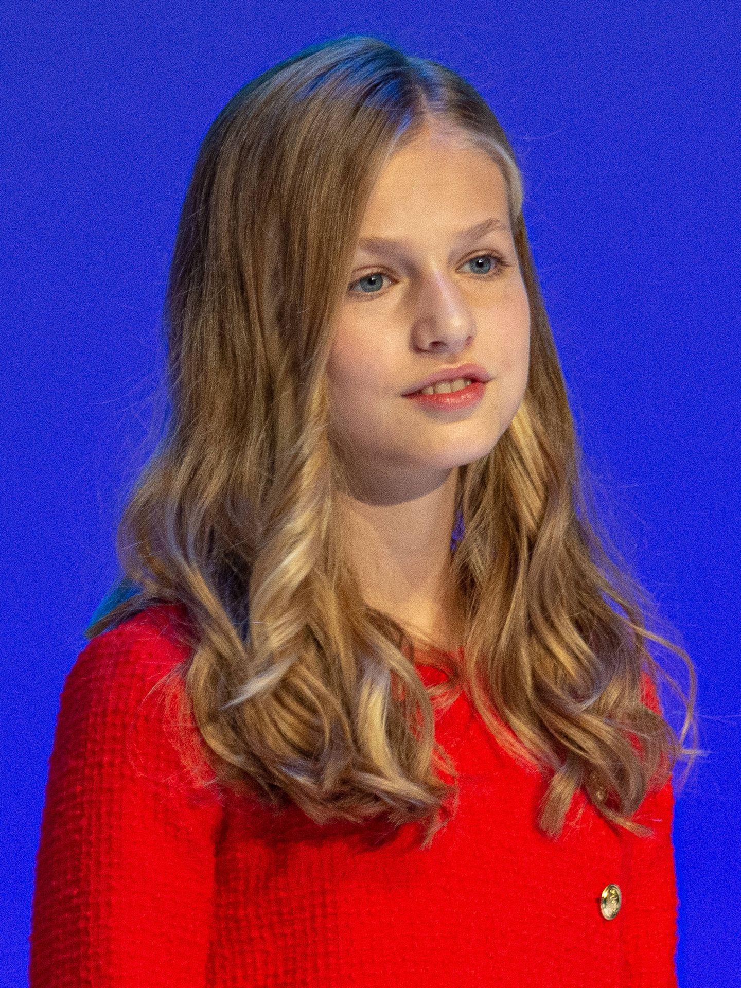 La princesa Leonor, en los Premios Princesa de Girona. (Getty)