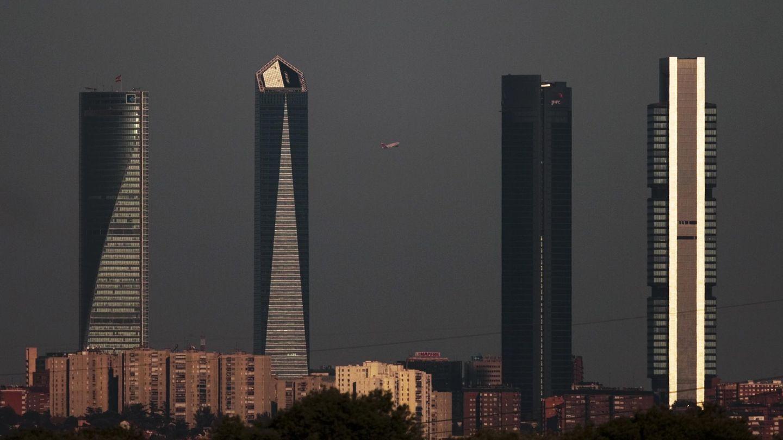 Las Cuatro Torres, en Madrid. (Reuters)