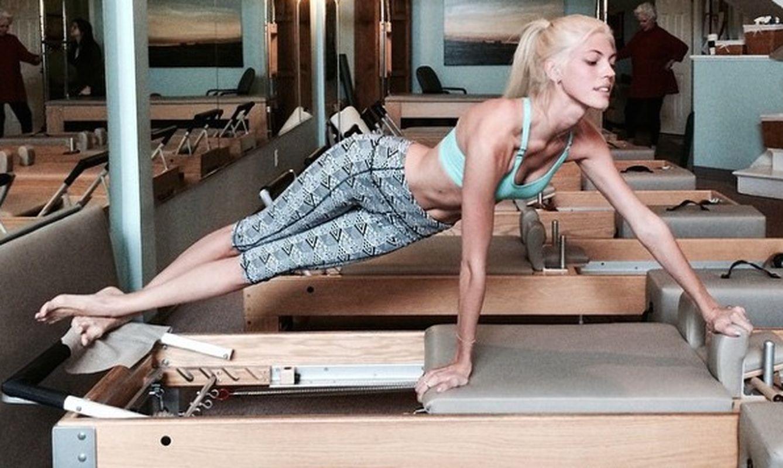 Foto: Dos animales de gimnasio se enfrentan al pilates, el secreto para una vida sexual plena
