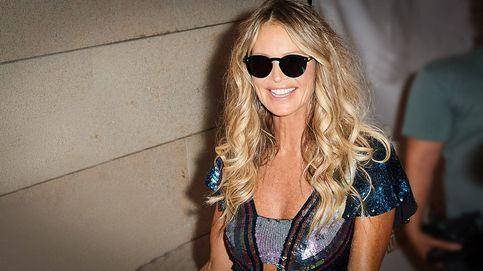 Elle Macpherson, de fiesta nocturna en Mallorca con lentejuelas y gafas de sol