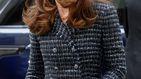 Tweed, minifalda y D&G en el último acto en solitario de Kate Middleton