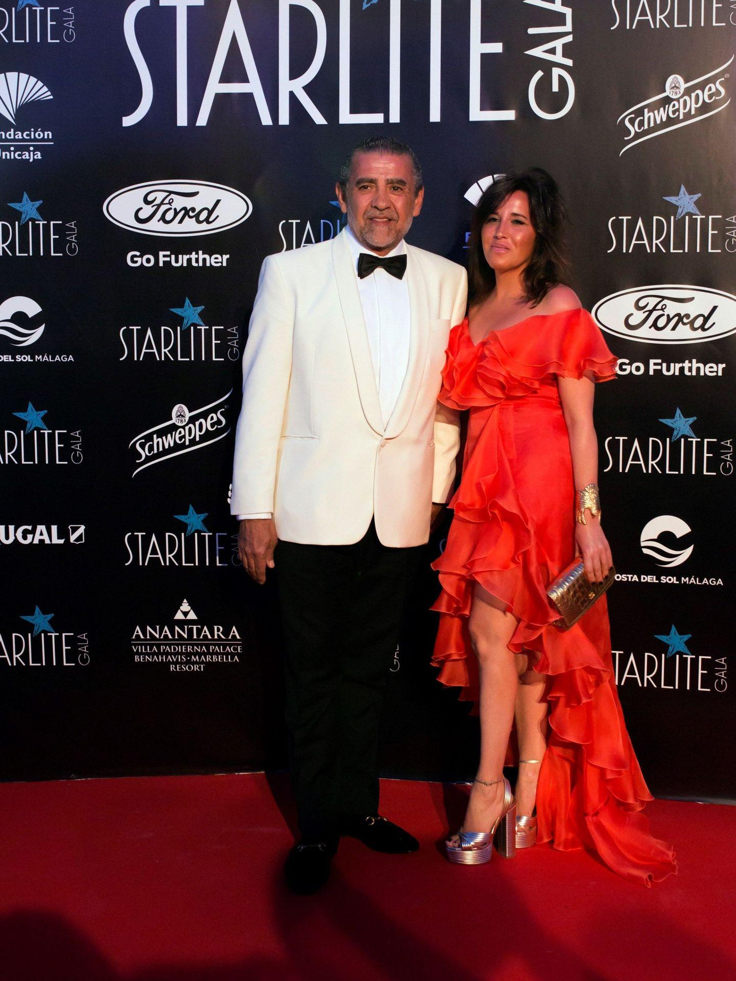 Jaime y Marta, a su llegada a la gala Starlite. (EFE)