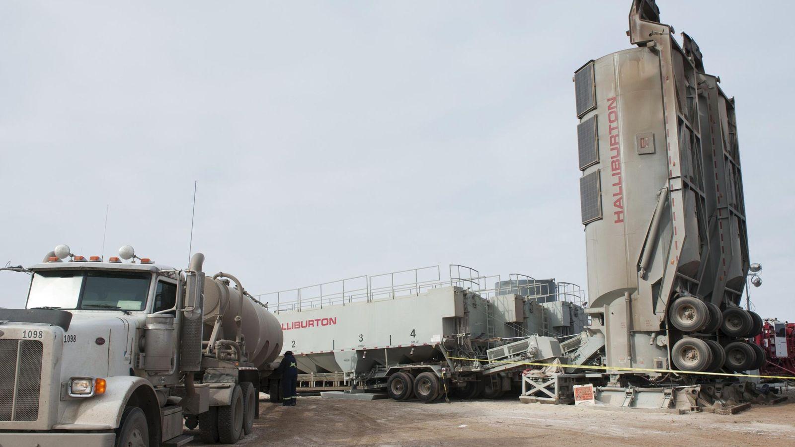 Foto: Estación de 'fracking' en Dakota del Norte, EEUU. (Reuters)