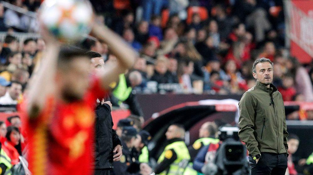 Foto: El último partido de la Selección que dirigió Luis Enrique fue el España-Noruega jugado el 23 de marzo en Valencia. (EFE)