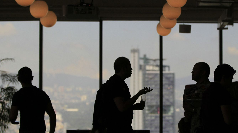 Foto: Emprendedores, en un espacio de 'coworking'. (EFE)