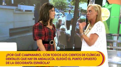 Belén Esteban abandona el plató de 'Sálvame': No me calentéis