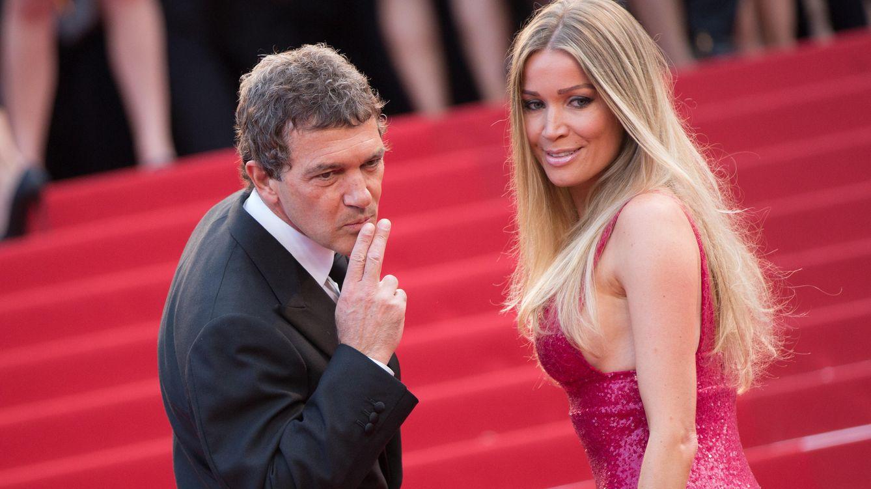 Foto: El actor Antonio Banders junto a su novia, Nicole Kimpel , en una imagen de archivo (Gtres)