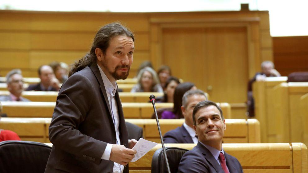 Ni Pedro Sánchez ni Pablo Iglesias quieren eurobonos, pero todavía no lo saben
