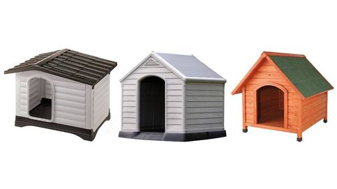 Las mejores casetas para perros de madera y plástico para exteriores