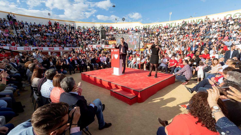 El PSOE afronta la recta final del 26-M con optimismo y fija Madrid como clave
