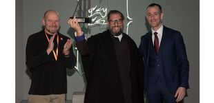 Post de Andrea Galvani, ganador del VII Premio Audemars Piguet en ARCO