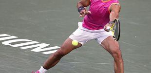 Post de Rafa Nadal machaca a Schwartzman en dos sets y pasa a octavos en Indian Wells