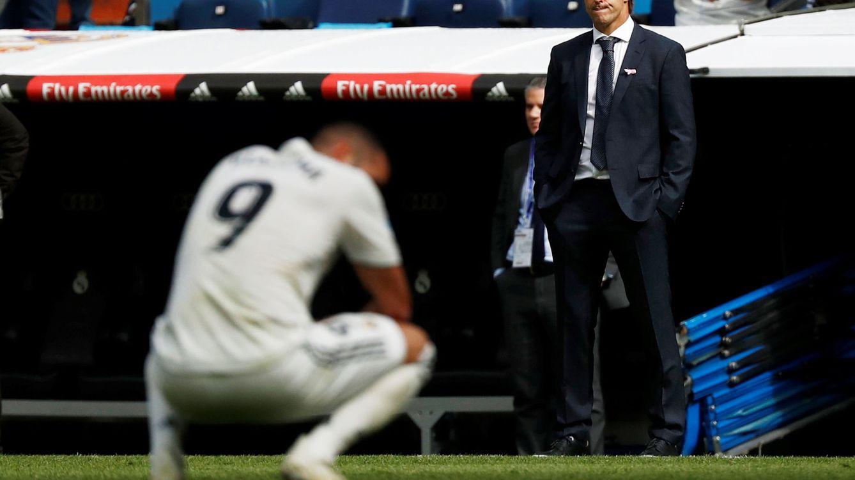 Foto: Julem Lopetegui durante el Real Madrid-Levante de este sábado. (Reuters)