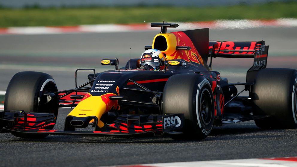 Red Bull  contra las aletas de tiburón en F1 por estética... ¿es trigo limpio?